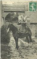 44 - Coiffures Et Costumes Anciens - Scènes De La Vie Normande - 1909 - (noir Et Blanc) - Basse-Normandie