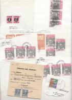 DC449-1942-1997 Lotto Di 8 Documenti/frammenti Con MARCHE DA BOLLO - Italien