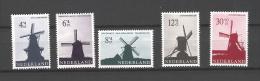 Nederland 1963 Windmills, Moulins NVPH 786/90 Yvert 769/73 MNH ** - Moulins