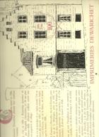 Centenaire De L´imprimerie Dewarichet. Calendrier 1986 Avec Reproductions De Cpa De Bruxelles - Grand Format : 1981-90