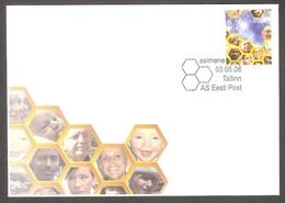 Estonia 2006 Stamp FDC Europa Integration MI 555 - Estonia