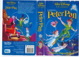 LE AVVENTURE DI PETER PAN - WALT DISNEY  - VHS - USATA - Cartoni Animati