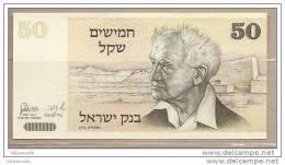 Israele - Banconota Non Circolata Da 50 Scicli - 1978 - Israele
