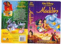 ALADDIN - WALT DISNEY  - VHS - USATA - Cartoni Animati