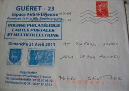 NOUVEAUTE SUR ENVELOPPE ENTIERE RECU COURRIER - France