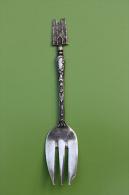 """Cuillère (fourchette) De Collection """"Cathédrale De Reims"""" Cuiller (Fork) - Spoon - Marne - Champagne - Cuillers"""