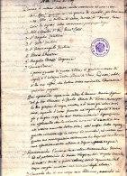 Tre Testamenti - Donna Maria Chemotti, Zuclo - Trentino ( Molina Di Ledro ) 1801, 1810, 1811 - Historische Dokumente