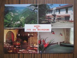 """HOTEL Et SITE  Du BELVEDERE     Restaurant     Crançot ( Jura 39 )    """" EntreChampagnole Et Lons Le Saunier - Non Classificati"""