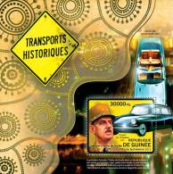 GUINEA 2012 - Transport History: Citroen - Mi B2110, YT BF1397 - Voitures