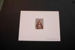 French Polynesia 411 Deluxe Proof Card Woman Circa 1900 Unused 1985 A04s - Geschnitten, Drukprobe Und Abarten