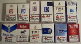 Empty Tobacco Boxes - 12 Items #0417. - Empty Tobacco Boxes