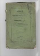 RARE: MEMOIRE SUR LA DECOUVERTE DES RUINES ROMAINES DE BRIVODURUM 1857 - 1801-1900