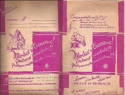 """Patron MODE & TRAVAUX De Mars 1950 """"LINGERIE (Culotte, Combinaison, Chemise De Nuit)"""" Pour Enfant 10/11ans (84 à 87)_L30 - Patrons"""