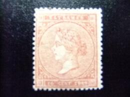 ANTILLAS - ANTILLES ESPAGNOLES  AÑO 1869  ISABEL II  Edifil Nº 16 * MH  Yvert Nº 31  * MH - Puerto Rico
