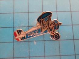 (pin613g) Pin´s Pins / Thème :  AVION AVIATION ESPACE / BIPLAN US NAVY OU US AIR FORCE ANNEES 30 F4B-1  / MARQUAGE AU DO - Avions