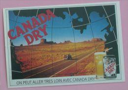 CANADA DRY -  PUBLICITE BOISSON - Ed ATLAS - 1992 - Publicité