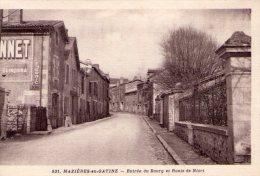 """Mazières-en-Gâtine..entrée Du Bourg..route De Niort..pub..""""Dubonnet"""" - Mazieres En Gatine"""