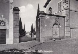 Albano Laziale-ingresso Alla Villa Pontificia- - Italie