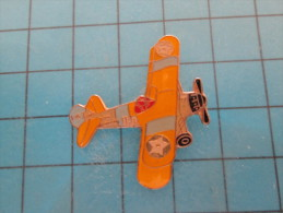 (pin613g) Pin´s Pins / Thème :  AVION AVIATION ESPACE / BIPLAN US NAVY OU USAAF ANNEES 30 A IDENTIFIER   / MARQUAGE AU D - Avions