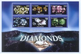 Gambia 2003 Diamonds Sheet/6 #2780 - Gambie (1965-...)