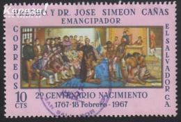 1967 - EL SALVADOR - Y&T 721 - José Simeon Cañas (1767-1838) - Salvador