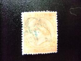 ANTILLAS - ANTILLES ESPAGNOLES  AÑO 1869  ISABEL II  Edifil Nº 17 º  Yvert Nº 32 º FU - Puerto Rico
