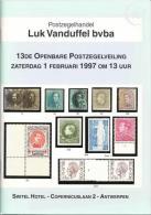 1997 - VANDUFFEL Bvba - Catalogus/Catalogue/Katalog - 13 - Catalogues De Maisons De Vente