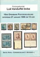 1996 - VANDUFFEL Bvba - Catalogus/Catalogue/Katalog - 10 - Catalogues De Maisons De Vente