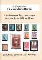1996 - VANDUFFEL Bvba - Postzegelveiling/Vente Publique/Briefmarkenauktion/Stamp Auction - 11 - Catalogues De Maisons De Vente