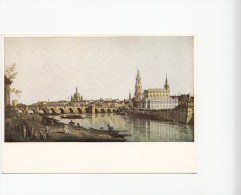 ZS45426 Canaletto Dresdenvom Rechten Elbufer Paint Peintures   2 Scans - Dresden