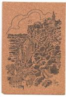 Rocamadour-Le Château-Carte En Liège -(Réf.5333) - France