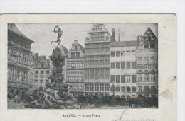 CPAS Anvers Grand'Place Vers 1905 Antwerpen - Antwerpen