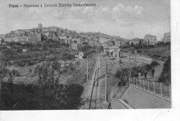 PENNE , Pescara  , Ferrovia  Elettrica    , Stazione  * - Pescara
