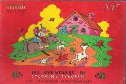 SYLVAIN ET SYLVETTE UNE TRAVERSEE MOUVEMENTEE N°15 - Sylvain Et Sylvette