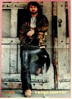 Kleines Poster  -  Peter Maffay  -  Rückseite : Haysi Fantayzee  -  Von Pop-Rocky Ca. 1982 - Plakate & Poster