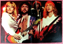 Kleines Poster  -  Band Styx  -  Von Bravo Ca. 1982 - Plakate & Poster