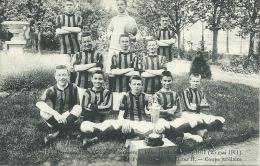 Alsemberg - Pensionnat St-Victor - Fêtes Jubilaires 1911 - La Football Club St Victor- 1912 ( Verso Zien ) - Beersel