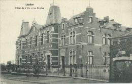 Landen - Hôtel De Ville Et Les Ecoles ( Verso Zien ) - Landen