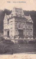 """TROOZ  �crite en 1907  """"Ch�teau du Rys-de-Mosbeux """"   Edit  A.H  H           voir scans"""