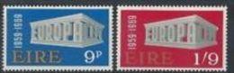 1969 - Irlanda 232/33 Europa - 1949-... Repubblica D'Irlanda