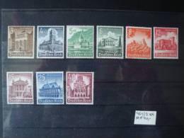 Deutsches Reich: Mi-Nr 751/9 Postfrisch, 40,--EUR - Nuevos