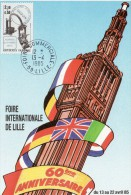 """Carte Commémorative De 1985 N° YT 2362 """" JDT 1985 / FOIRE DE LILLE """". Parfait état + Prix Dégressif ! - Cartes-Maximum"""