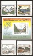 PINTURA - GRENADA 1989 - Yvert #1779/82+H212 ** - Arts