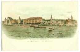 Exposition Universelle Paris 1900. LITHO. Le Vieux Paris. Vue Générale. - Expositions