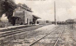 CPA COURBAN (21) La Gare - Other Municipalities