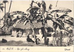 7670 - A.O.F. Un Joli Village Vincent - Sénégal