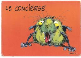 Franquin- Au Bahut-Le Consierge-(Réf.5366) - Andere Illustrators