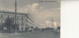 FOGGIA - VIALE DELLA STAZIONE VG 1912  AUTENTICA 100% - Foggia