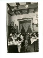 CP - OBERNAI (67) Salon Auberge de la Cigogne Propri�taire RENE GELB
