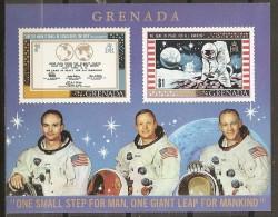 ESPACIO - GRENADA 1969 - Yvert #H1 - MNH ** - Spazio